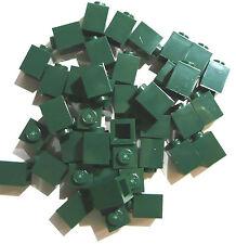 30 Stück LEGO® 3005 seltene Lego Basic Bausteine 1x1 Noppen Emerald-Grün Neu.