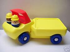 LITTLE TIKES TODDLE TOTS FLAT BED TRUCK W/PEOPLE RARE