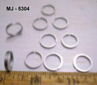 Pack of 10 - Steel Piston Rings (NOS)