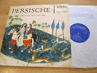 LP Persische Märchen aus 1001 Tag Endre Vaszony Vinyl Litera DDR 8 60 063