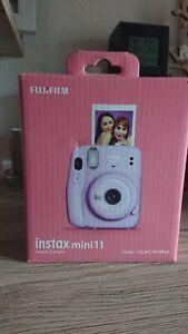 Fujifilm Instax Mini 11 Lilac Purple Sofortbildkamera (OHNE FILM)