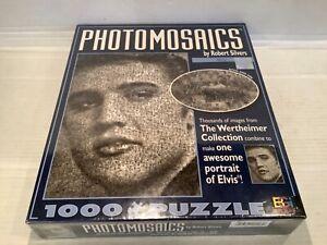 Buffalo Photomosaics 1000 Piece Jigsaw Puzzle NEW Elvis Presley Sealed