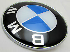 BMW E46 E60 E61 E81 E82 E87 E90 E91 E92 X5 BONNET BADGE FRONT LOGO EMBLEM 82mm