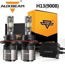 AUXBEAM H13 9008 LED Headlight for Dodge Ram 1500 2500 3500 06-12 High Low Beam