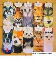 Animals Cotton Socks for Women