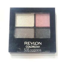 revlon colorstay 16 hour eye shadow quad in 535 goddess - 4.8g...