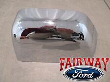 17 Super Duty F250 F350 F450 F550 OEM Ford Chrome Mirror Cover Cap LEFT DRIVER