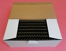 16mm Plastic Binding Combs 20 Or 21 Ring x 200's - Black