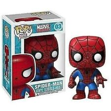 Funko - Spider-Man Marvel Pop! Vinyl Bobble Head #03 Vinyl Action Figure New
