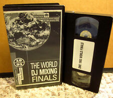 WORLD DJ MIXING FINALS Ministry of Sound London 1994 Dream Team VHS Cuttin' Crew