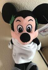 NEW - THE DISNEY STORE TOGA MICKEY Mouse Beanie Mini Bean Bag Plush Toy NWT