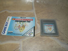 Puzzle Collection (*FP*) Entertainment Pack Für Nintendo Gameboy / Color / GBA