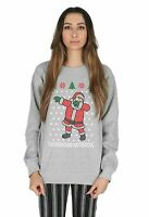 Dabbing Santa Christmas Sweater Top Jumper Sweatshirt Dab Father Xmas Ugly Funny