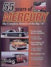 "55 YEARS OF MERCURY COMPLETE HISTORY OF THE BIG ""M"" US CANADA MODELS CYCLONE"