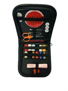 Sewing Kit & Case Portable Emergency Repair Needle Craft Thread Scissors