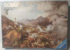Ravensburger Puzzle - Letzte Schlacht der Tiroler gegen Napoleon 5000 Teile RAR!