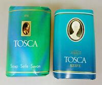 4711 Set 2 Stück vintage Seife 2x Tosca 8819