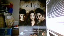 Twilight Saga Triple - Twilight / New Moon / Eclipse (DVD, 2011, 3-Disc Set)