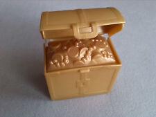 LEGO Duplo Schatztruhe Schatzkiste Gold Ritterburg Pirat mit Schatz Truhe 48036