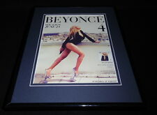 Beyonce 4 2011 Framed 11x14 Original Vintage Advertisement