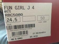 Rossignol Ski Boots 2014 - Girls - White - Unused - Size 24.5