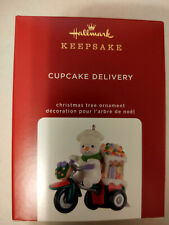 2020 Hallmark Gingerbread Cupcake Delivery Limited Edition Keepsake Ornament