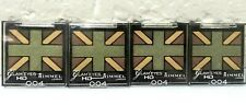 4 Pcs ! Rimmel Glam Eyes Hd 004 Green Park Quad Eye Shadow Sealed!