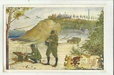 84918 antica cartolina MILITARE  1 PRIMO REGGIMENTO RADIOTELEGRAFISTI