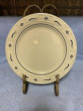 New ListingLongaberger Woven Traditions Dinner Plate Blue