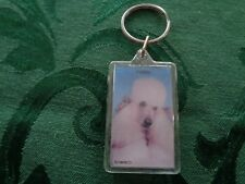 Swibco White Poodle Keychain