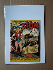New ListingCaptain Atom 1 1950 6.0 Fn Nation-Wide Comics Adventures Of Strict Fn
