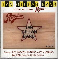 Ian Gillan Band - Live At The Rainbow CD