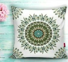"SET OF 2 - 18""x18"" Decorative Pillow Case Damask Picture Theme"