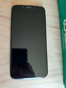 Motorola XT1952DL Moto G7 Optimo, 5.7'', 32GB, Black, Cellular, Total Wireless