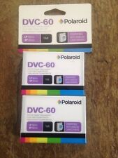 NIB 2 pack - Polaroid Dvc-60 Mini Dv Digital Videocassette
