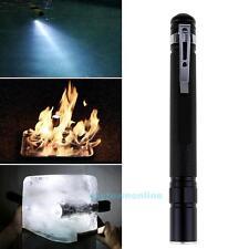 Penlight Pen Light Pocket Torch Reusable Medical Nurse Outdoor Hiking Flashlight