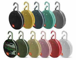 JBL Clip 3 IPX7 Waterproof Portable Wireless Bluetooth Speaker Speakerphone