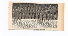 Colorado Buffaloes & Colorado State University Rams 1928 Football Team Picture