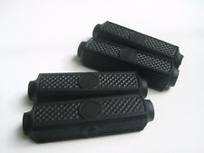 """VINTAGE BICYCLE BIKE RUBBER BLOCK FOR 4"""" RALEIGH BICYCLE PEDALS 4 PIECES / 1 SET"""