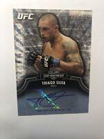 2012 Topps UFC Bloodlines Autograph Card Thiago Silva A-TS 381/403 auto