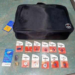 2000 Sydney Olympic Games Pins & Pin Folder Bag