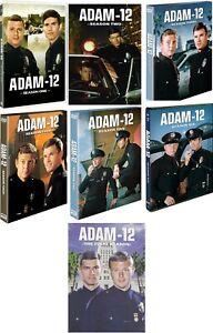 Adam-12 Complete TV Series Seasons 1 2 3 4 5 6 7 (1-7) NEW DVD Set Free Shipping