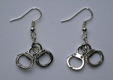 Toxic Glamour *Mini Handcuffs* alloy charms earrings