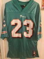 RONNIE BROWN #23 Miami Dolphins JERSEY Reebok Size Medium NFL Football Vintage