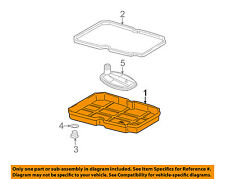 MERCEDES OEM 06-16 E350 3.5L-V6-Transmission Tranny Oil Pan 2212701212