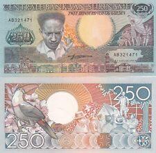 Suriname banconota 250 gulden del 1988