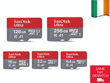 100% Genuine SanDisk Micro SDHC XC UHS-I Class 10  32 64 128 256 Gb