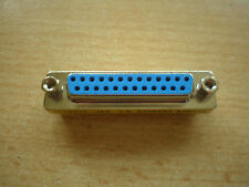 25 way D female to female gender changer connector    Z430