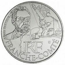 Pièce de 10 euros en argent de la région Franche-Comté  - Euro des régions 2012