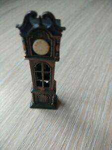 Vintage Novelty Die Cast Grandfather Clock Pencil Sharpener